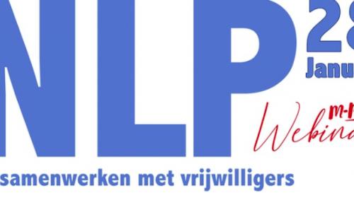 Webinar NLP en samenwerken met vrijwilligers