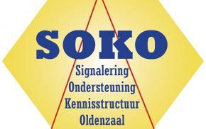 SOKO logo vooraankondiging