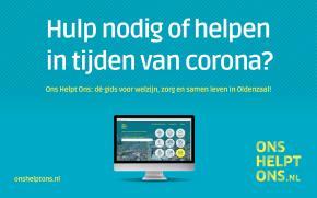 Steunpunt Coronazorgen en Sociaal Team Oldenzaal