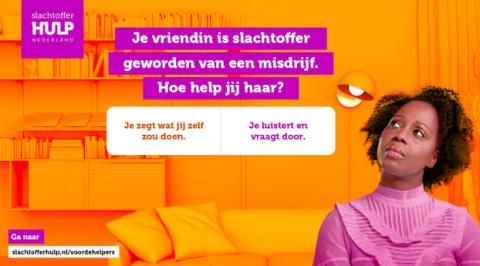 Campagne Slachtofferhulp Nederland