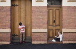 Afbeelding bij Kindermishandeling