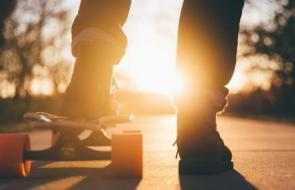 Jongere skateboard