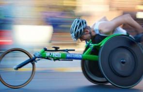 Sport voor mensen met een beperking